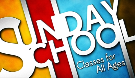 Sunday School Classes for All Ages